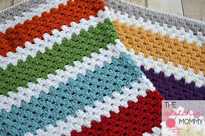how to start a granny stitch crochet blanket