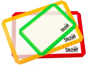Silchef Silicone 3 Piece Baking Mat Set Giveaway