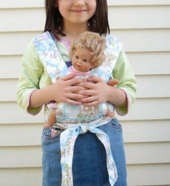 DIY Baby Doll Carrier | AllFreeSewing.com