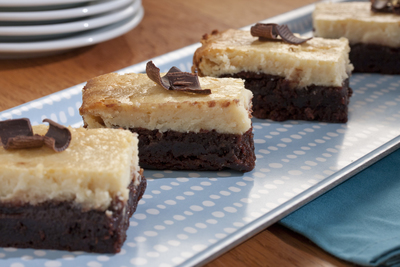 Brownie Cheesecake Bars
