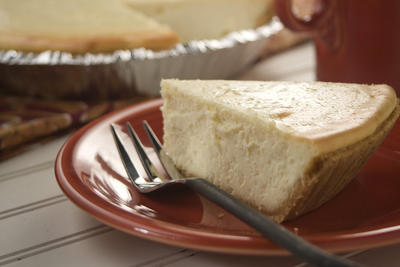 Simple Cheesecake Pie