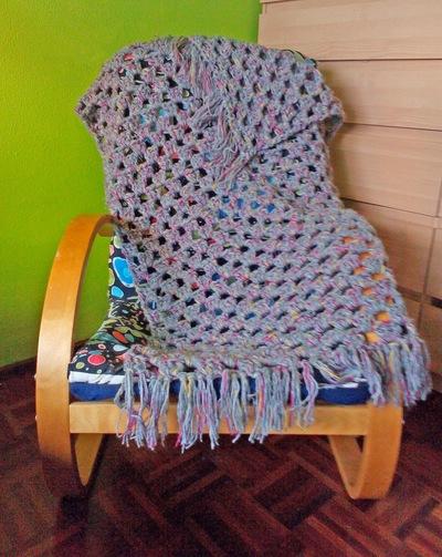 Quickest Granny Stripe Crochet Afghan Allfreecrochet