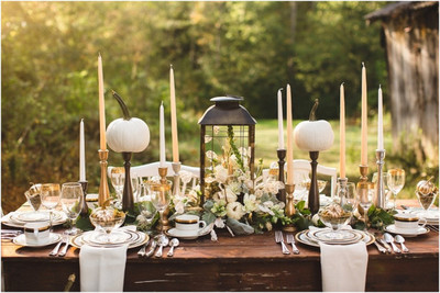 Country Chic Table Setting Ideas