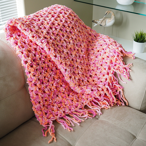 Quick N Cozy Crochet Afghan Allfreecrochet