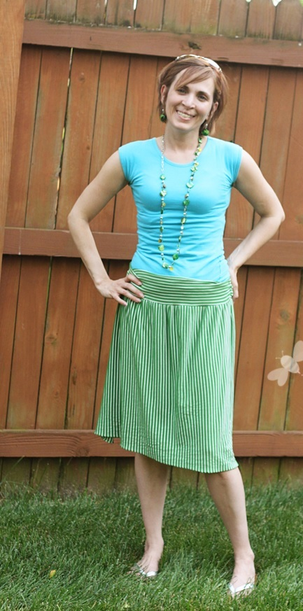 How to Sew a Stretchy Knit Skirt