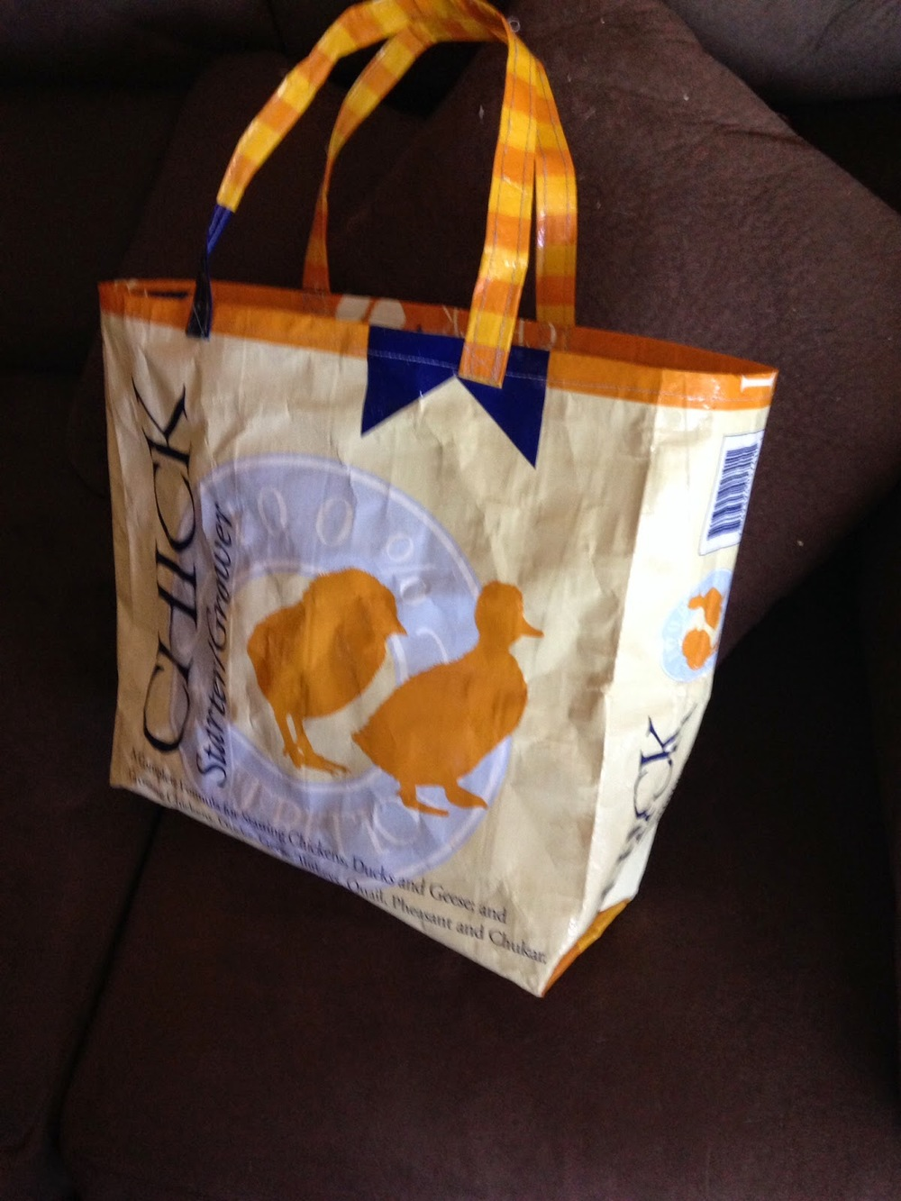 Rustic Upcycled Diy Grocery Bag Allfreesewing Com