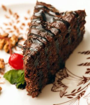 Gooey Slow Cooker Chocolate Cake