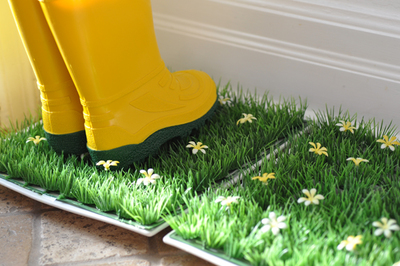 Spring DIY Boot Tray