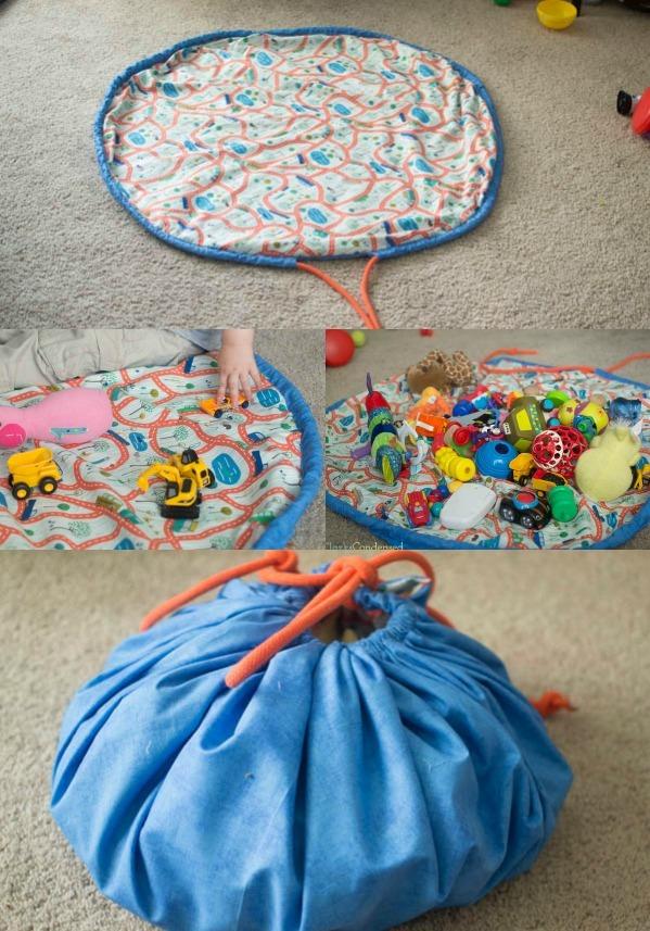diy swoop bag and playmat diyideacenter