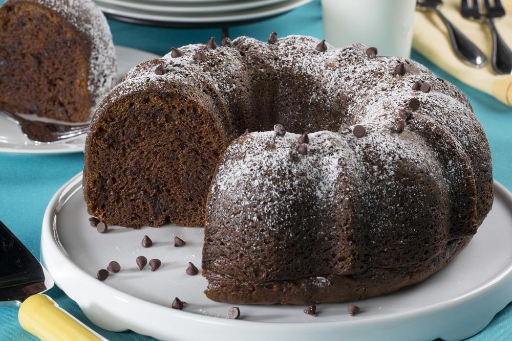 Chocolate Chip Pound Cake Mrfood Com