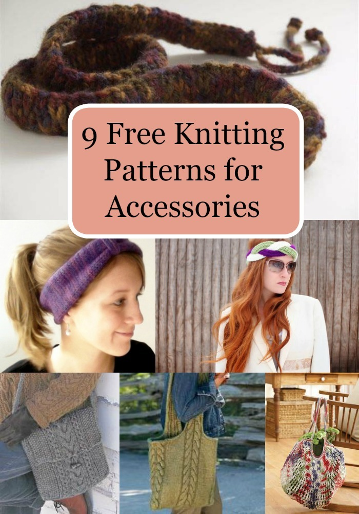 9 Free Knitting Patterns for Accessories | FaveCrafts.com