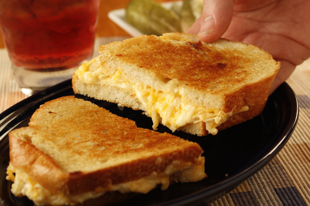 Ultimate Grilled Cheese Sandwich Mrfood Com