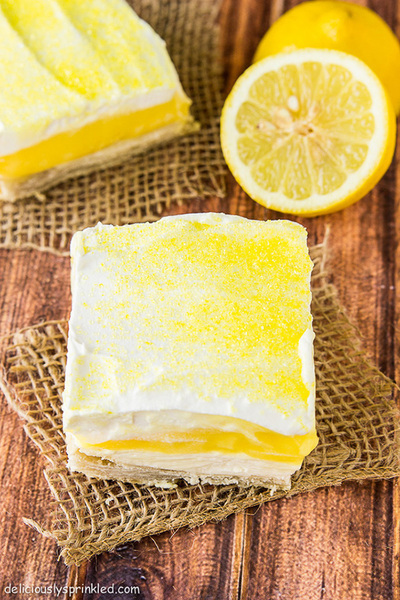 Lavish Lemon Pie Bars