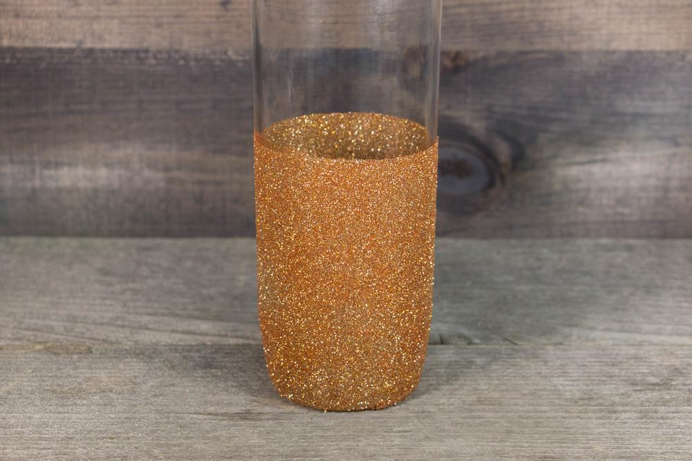 Glitter Vase Mod Podge Crafts Allfreediyweddings