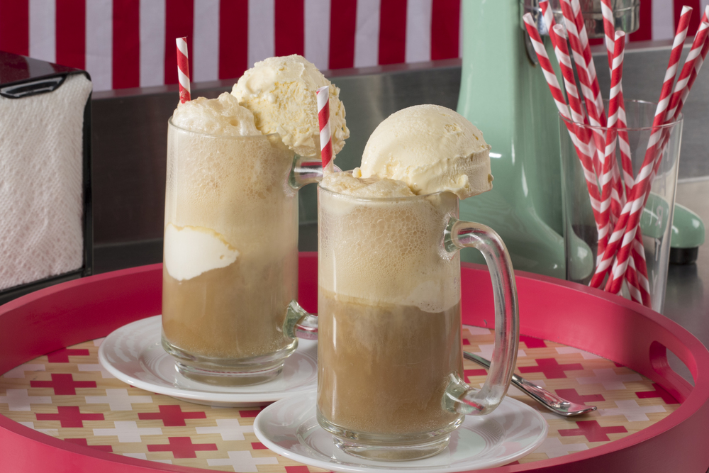 Old Fashioned Root Beer Float Mrfood Com