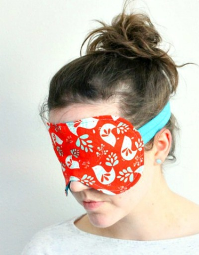 How To Sew An Oversized Sleep Mask