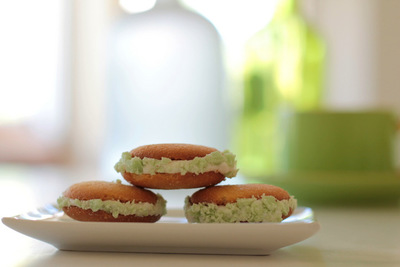 Vanilla Wafer St. Patrick's Day Treats