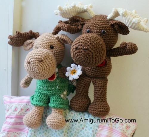 Adorable Crochet Moose Pattern Allfreecrochet