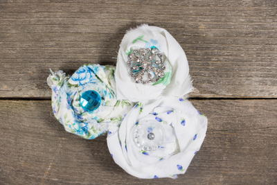 Scrap Fabric Hair Accessories