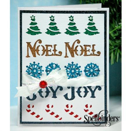 Glittered DIY Holiday Cards