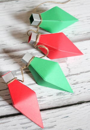 Christmas Light DIY Gift Boxes