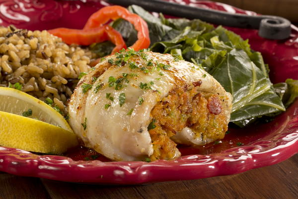 Catfish with Bacon Stuffing
