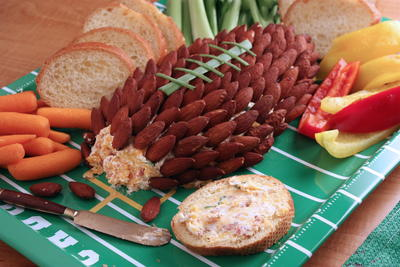 Cheddar Cheese Football Spread