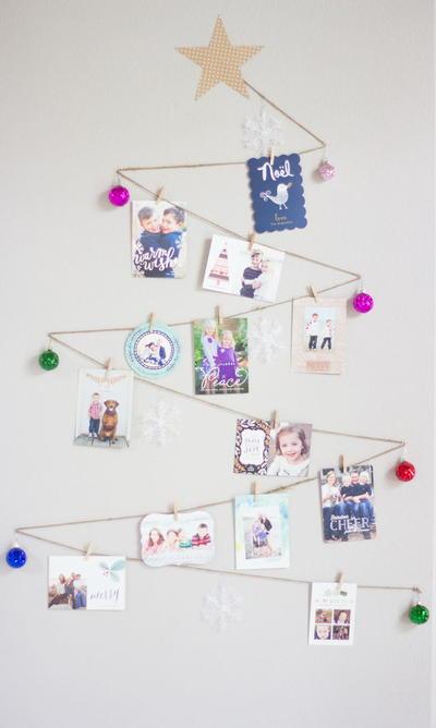 christmas tree holiday card display allfreechristmascrafts com