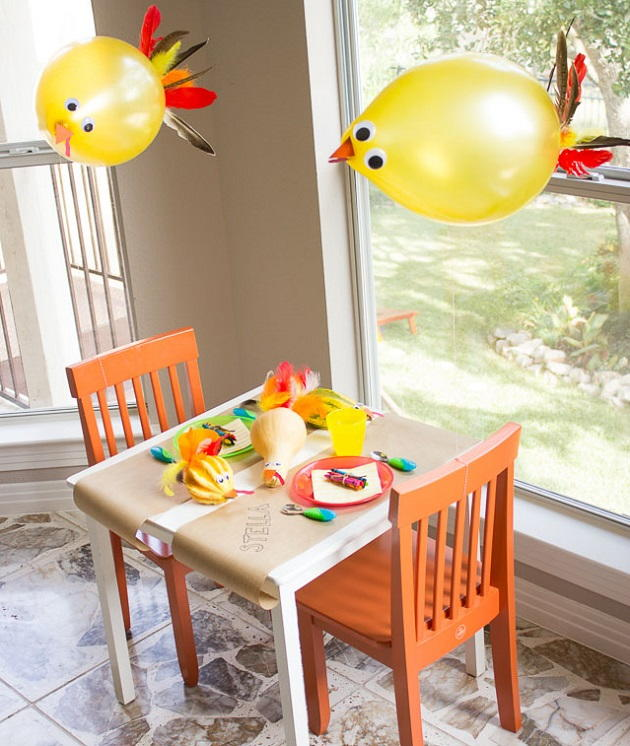Decorating Ideas > Seriously Silly Turkey Balloon Decorating Ideas  ~ 061918_Thanksgiving Balloon Decorations
