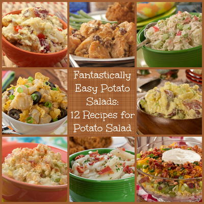 Fantastically easy potato salads 12 recipes for potato salad potato salad to complete your potluck spread dinner menu church supper or anything else these classic potato salad recipes make the best go alongs forumfinder Images