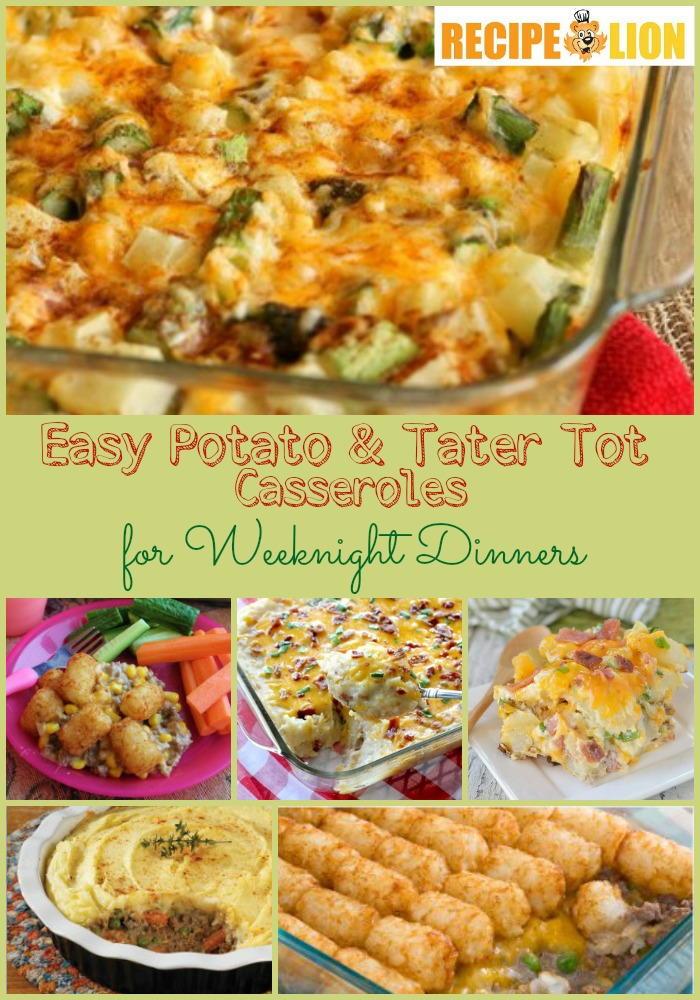 14 Easy Potato and Tater Tot Casserole Recipes ...