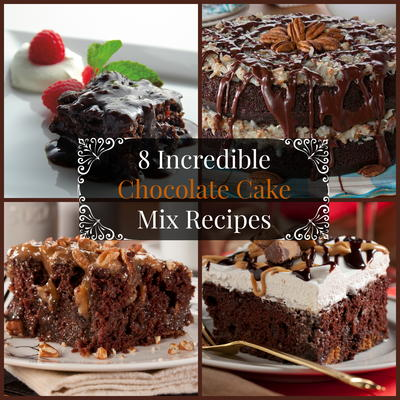recipes with chocolate cake mix