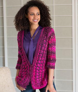 Shaded Midnight Cardigan