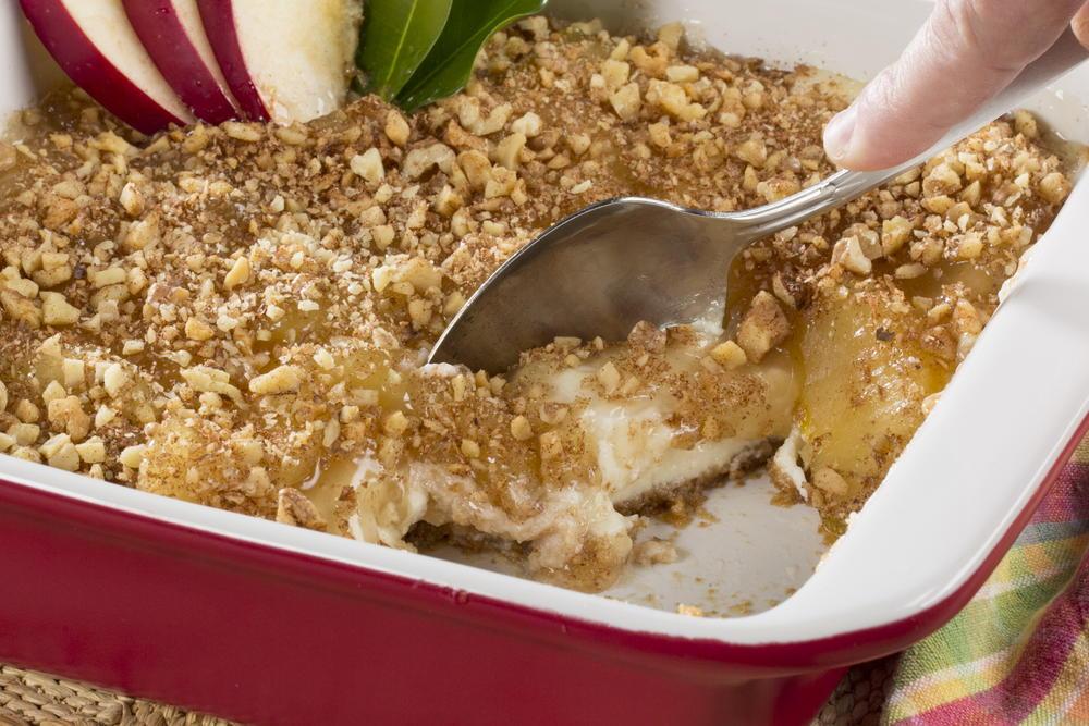 Creamy dutch apple dessert mrfood forumfinder Choice Image