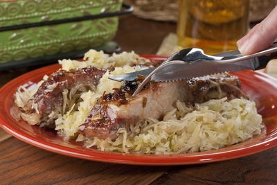 Slow Roasted Country Ribs
