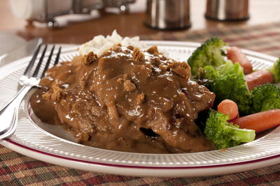 Sauerbraten with Ginger Gravy