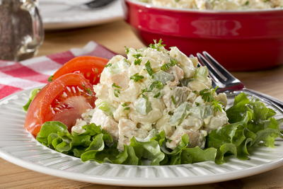 recipe: chicken macaroni salad with grapes [35]