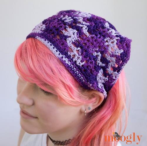 Lazy Summer Crochet Kerchief   AllFreeCrochet.com