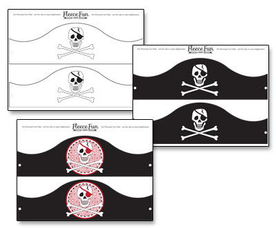 Free Pirate Themed Printables | AllFreeHolidayCrafts.com