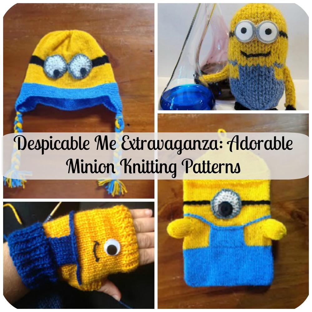 Despicable Me Extravaganza Adorable Minion Patterns