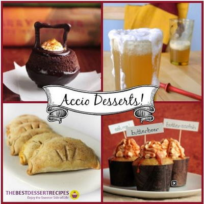 Accio Desserts Magical Harry Potter Recipes