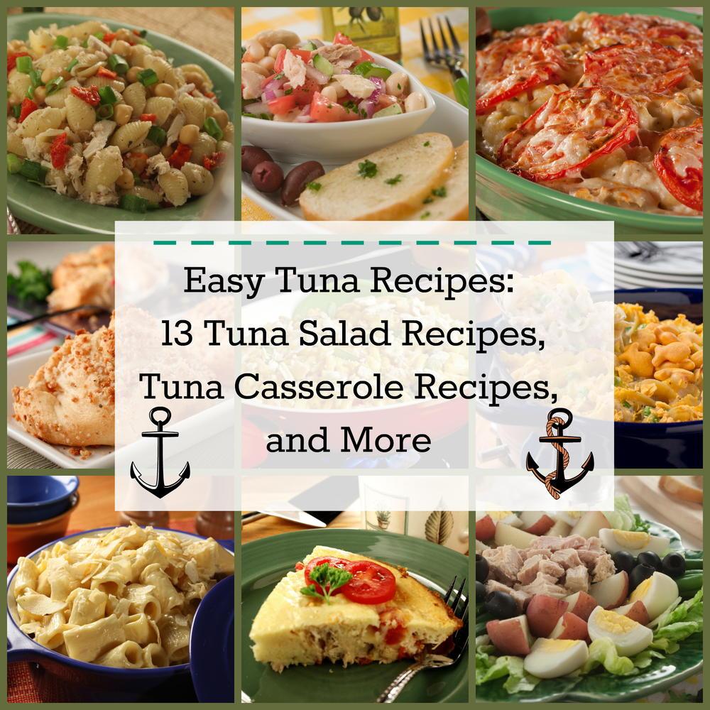 Easy tuna recipes 13 tuna salad recipes tuna casserole for Recipes for tuna fish