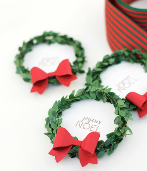 Adorable Christmas Gift Labels