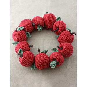 Faux Fruit Wreath Decor