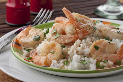 Chipotle Cream Shrimp