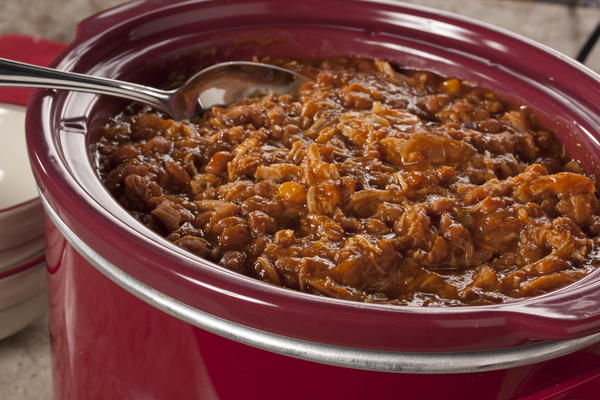 Slow Cooker Pork n Beans