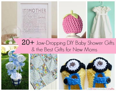 DIY Baby Shower Gifts and Gifts for New Moms