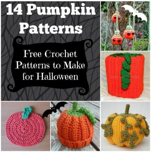 14 pumpkin patterns free crochet patterns to make for halloween allfreecrochetcom