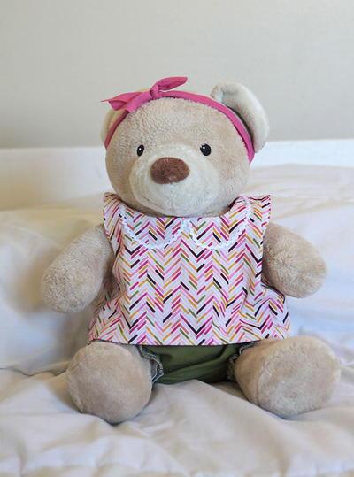 Diy Teddy Bear Clothes Allfreesewing