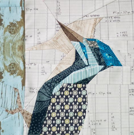 Stunning Woodpecker Block Pattern Favequilts Com